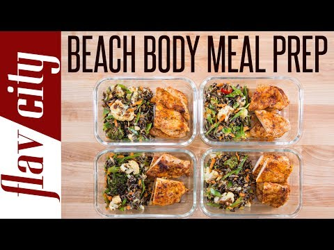 Video Beach Body Meal Prep - Tasty Weight Loss Recipes With Chicken Breasts