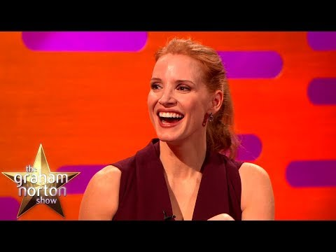 Jessica Chastain u Grahama Nortona