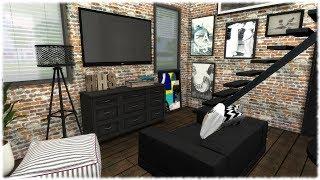 The Sims 4: Speed Build // MODERN TINY HOUSE + CC Links
