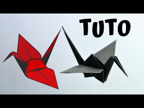 Tuto Origami Grue Traditionnelle Animassiettes Video Index Music