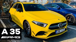 2019 MERCEDES AMG A 35 FULL IN-DEPTH REVIEW 4MATIC Exhaust Exterior Interior Infotainment