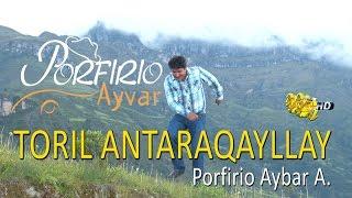Porfirio Ayvar Toril Antaraqayllay  Video Clip Oficial  Tarpuy Producciones