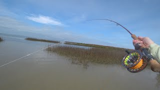 Texas Gulf fly fishing for redfish - McFly Angler Saltwater Fly Fishing Episode 74