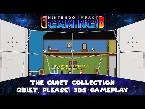 The Quiet Collection - Quiet, Please! 3DS Gameplay thumbnail