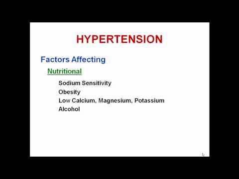 Crises hypertensives ont hypotensive