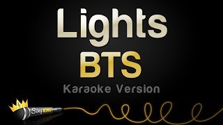BTS   Lights (Karaoke Version)