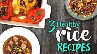 3 Healthy RICE Recipes | Clean Eating | Joanna Soh