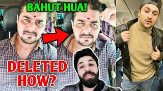 Hindustani Bhau Reaction On DELETED Channel - Dr Turki | Harsh Beniwal, Logan Paul Vs Antonio Brown