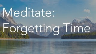 Daily Calm | 10 Minute Mindfulness Meditation | Forgetting Time