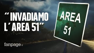 """Circa un milione di persone con un unico obiettivo: invadere l'Area 51, la misteriosa base militare Usa che secondo alcuni nasconderebbe tracce del passaggio degli alieni sul nostro pianeta. L'iniziativa nata, chiaramente per scherzo, su Facebook ha attirato migliaia di utenti che dichiarano di volersi presentare il 20 settembre davanti alla base nel deserto del Nevada. A creare l'evento è stato un australiano che si chiama Jackson Barnes. Sulla pagina """"Storm Area 51, they can't stop all of us"""" vengono date istruzioni chiare su come raggiungere l'obiettivo.    AREA 51: PRONTI AD INVADERLA: https://www.fanpage.it/esteri/area-51-in-1-milione-pronti-a-invadere-la-misteriosa-base-correndo-con-le-braccia-allindietro/ http://www.fanpage.it/   - Se il video ti è piaciuto: http://fanpa.ge/ISCRIVITI-A-FANPAGE-IT  - Come attivare CORRETTAMENTE le notifiche, da qualsiasi smartphone: http://fanpa.ge/PROBLEMA-RISOLTO   - Commenta con noi le ultime notizie, entra in Community: http://fanpa.ge/FANPAGE-COMMUNITY  https://youmedia.fanpage.it/video/aa/XSyhP-SwrnKyo96o"""