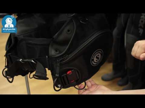 Scubapro X Black BCD – www.simplyscuba.com