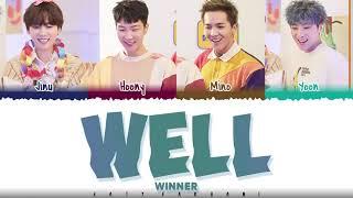 WINNER – 'WELL' Lyrics [Color   - YouTube