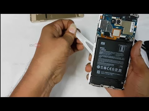 Xiaomi Redmi Note 4 Battery Replacement || How to Remove Redmi Note 4 battery