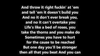 Angel Haze Battle Cry ft  Sia Lyrics HD