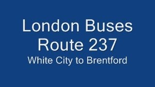 preview picture of video 'London Buses Route 237'