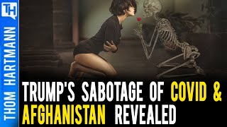 Trump Claiming Biden Surrendered to COVID & Taliban - Really?!