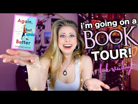 THERE'S A BOOK TOUR!? | BOOK WRITING EP 43