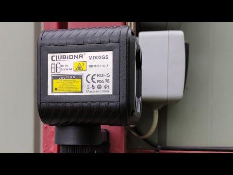 Самонивелирующийся лазерный уровень Clubiona MD2GS-C2 Self-leveling laser level