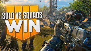 Blackout Solo vs. Squads WIN!