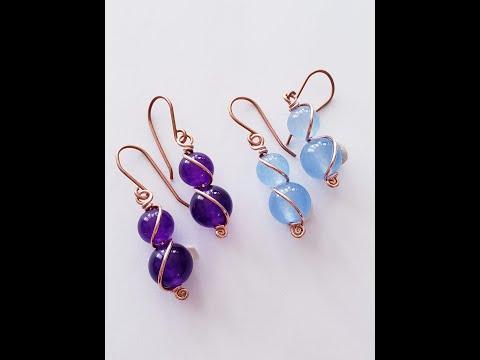 Wire Wrap Tutorial ~ Simply Elegant Earrings – 26