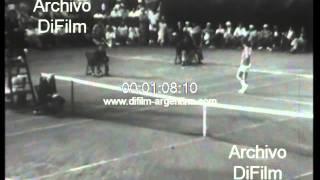 DiFilm - Ken Rosewall Defeated John Newcombe - US Open Tennis 1974