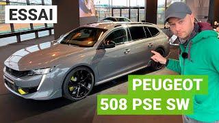 Essai Peugeot 508 SW PSE : un break de chasse de 360ch !