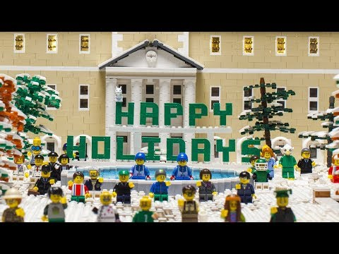 Building Mean Green Holiday Spirit
