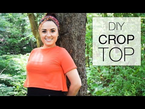 DIY Crop Top Tutorial