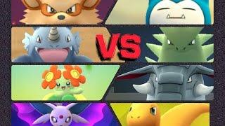 Donphan  - (Pokémon) - Pokémon GO Gym Battles Level 10 Gym Tyranitar Espeon Bellossom Donphan Charizard Venusaur & more!