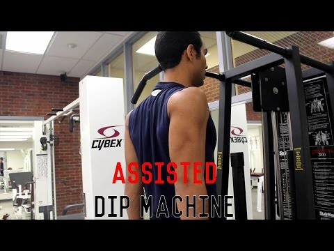 Assisted dip machine