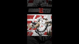Snake Eyes - Storm Shadow Comic Book Piece