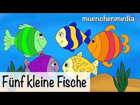 Download Fünf kleine Fische - Kinderlieder deutsch | Kinderlieder zum Mitsingen - muenchenmedia