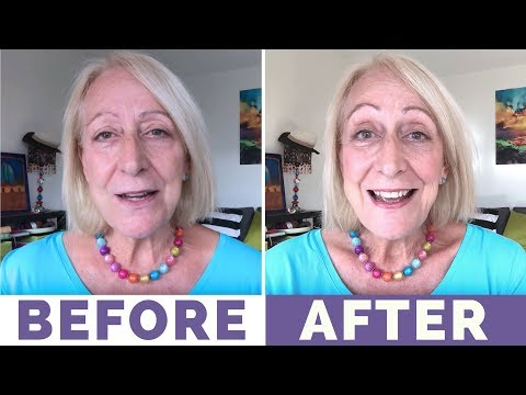 My Fast And Fun 2 Minute Makeup For Older Women Tutorial