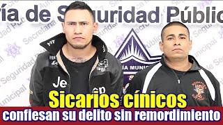 Sicarios confiesan sin remordimiento tras ser capturados después de ejecutar a una persona