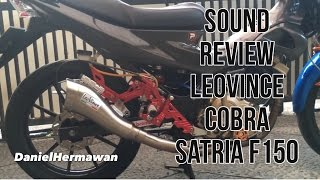 Review LeoVince Cobra Suzuki Satria FU 150 - Knalpot Racing