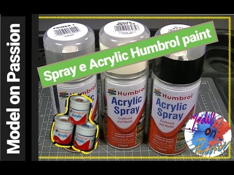 Humbrol spray e Acrylic paint: Model on Passion