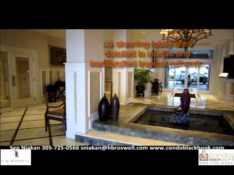 Courvoisier Courts Condo in Brickell Key - Miami Condos - Video Tour