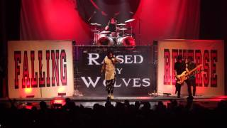 Falling In Reverse Raised by Wolves Live at The Regency Ballroom HD