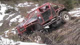 AZVR Panter V8 Test drive