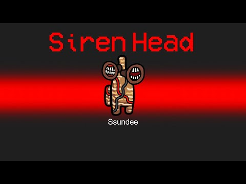 SIREN HEAD Imposter in Among Us