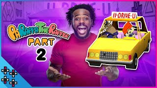 ROAD RAGE RAP! - PaRappa The Rapper: Part 2
