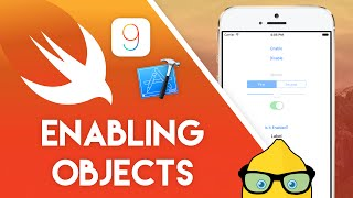 Xcode 7 Swift 2 Tutorial - Enabling Objects - iOS 9 Geeky Lemon Development