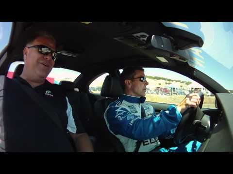 DINAN 2011 Laguna Seca In-Car E92 S3-R M3 - Freeth