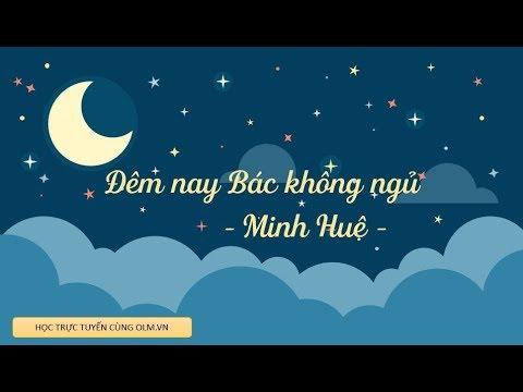 Đêm nay Bác không ngủ - Ngữ văn 6