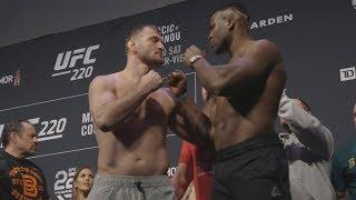 UFC 220: Weigh-in Recap