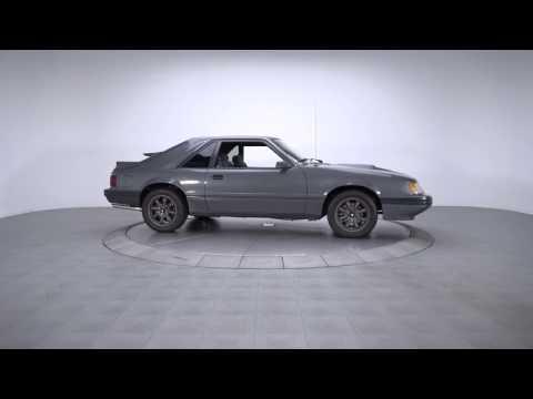 Video of '86 Mustang SVO - LTA3