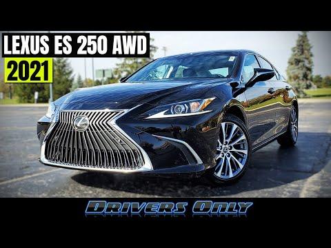 2021 Lexus ES 250 AWD - First ES with AWD!