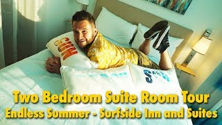 Surfside Inn and Suites Two Bedroom Suite Room Tour | Universal Orlando