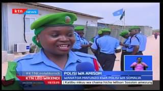 Kikosi cha jeshi la Umoja wa Afrika watoa mafunzo kwa polisi wa Somalia
