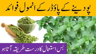 Mint Leaves Powder Benefits For Health And Beauty (Stomach Acidity Gas Teeth Hair Skin)  HealthMEasy